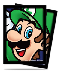 Super Mario Ultra Pro Sleeve 65ct. - Luigi (#84667)