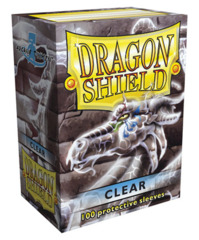 Dragon Shield Standard-size (100ct) Sleeves - Clear