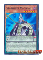 Stargazer Magician - Super Rare - YS14-EN009 (1st Edition)