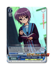 Glasses Girl, Nagato [SY/W08-E079S SR (FOIL)] English