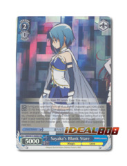 Sayaka's Blank Stare [MM/W17-E086S SR (FOIL)] English
