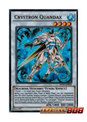 Crystron Quandax - INOV-EN044 - Ultra Rare - Unlimited Edition