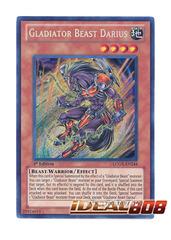 Gladiator Beast Darius - LCGX-EN244 - Secret Rare - 1st Edition