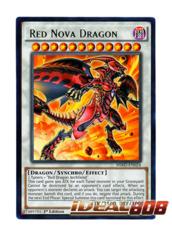 Red Nova Dragon - HSRD-EN024 - Rare - 1st Edition