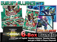 Yugioh DUEA Bundle (D) - Get x6 Duelist Alliance Booster Boxes + FREE Bonus (2-Player Playmat & SE Pack) * Ships August 15, 2014 on Ideal808