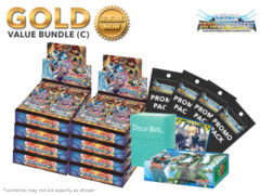 FC-Buddyfight D-BT04 Bundle (C) Gold - Get x8 Shine! Super Sun Dragon!! + FREE Bonus Items