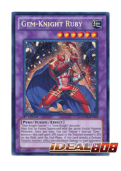 Gem-Knight Ruby - Secret - HA05-EN019 (Unlimited)
