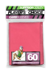 Player's Choice Standard Card Sleeves - Pink