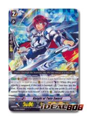 Knight of Twin Sword - G-TD02/006EN - RRR (Foil ver.)