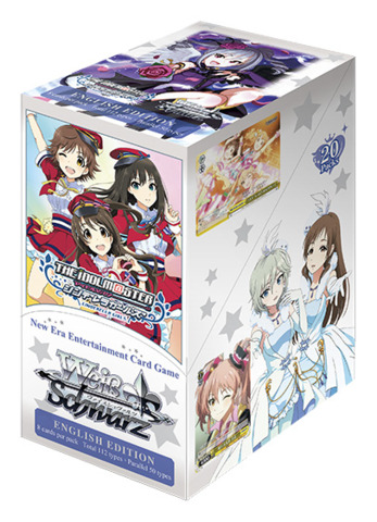 THE IDOLM@STER CINDERELLA GIRLS (English) Weiss Schwarz Booster Box <idolmaster>