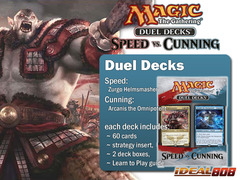 Magic Duel Deck - Speed vs Cunning (DDN/SVC) on Ideal808