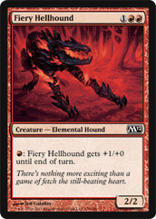 Fiery Hellhound - Foil on Ideal808