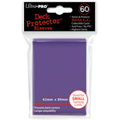 Ultra Pro Small Sleeves 60ct. - Purple