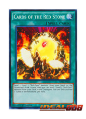 Cards of the Red Stone - LDK2-ENJ25 - Common - 1st Edition