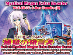 Cardfight Vanguard EB07 Bundle (B) - Get x6 Mystical Magus Extra Booster Box + Cf-Vanguard Sleeves & More on Ideal808