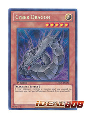Cyber Dragon (Alternate Art) - Secret - LCGX-EN176 on Ideal808
