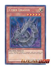 Cyber Dragon - LCGX-EN176 - Secret Rare - 1st Edition