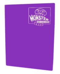 Monster Protectors 9 Pocket Binder - Matte - Coral Purple