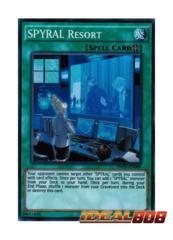 SPYRAL Resort - INOV-EN089 - Super Rare - Unlimited Edition