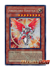 Archlord Kristya - SOVR-EN096 - Secret Rare - Unlimited Edition