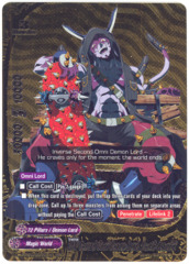 INV Second Omni Demon Lord, Death Asmodai [H-PP01/0070EN BR (GOLD FOIL)] English