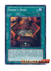 Shien's Dojo - Super Rare - EXVC-EN057 - Unlimited on Ideal808