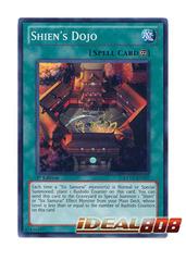 Shien's Dojo - EXVC-EN057 - Super Rare - 1st Edition