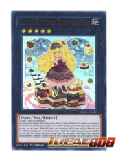 Madolche Puddingcess Chocolat-a-la-Mode - CROS-EN051 - Ultra Rare - Unlimited Edition