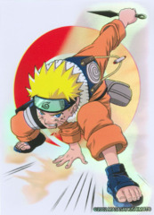 Naruto CCG US Exclusive Bandai Official Limited Edition Card Sleeves - Naruto Uzumaki on Ideal808