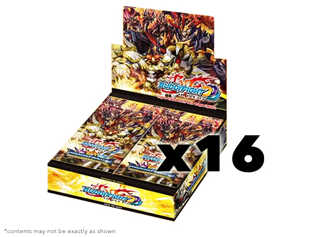 BFE-D-CBT01 Dragon Fighters (English) Future Card Buddyfight Climax Booster  Case (16 Boxes) * PRE-ORDER Ships Feb.24