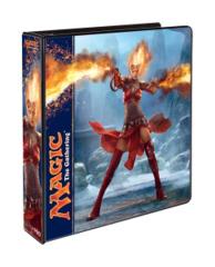 Magic the Gathering M14 2014 3-Ring Hard Cover Binder - Chandra Nalaar