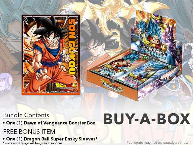 Dragon Ball Super CCG B01 Dawn of Vengeance Buy-A-Box - Get x1 Dragon Ball Super Booster Box + BONUS * PRE-ORDER Ships Jul.28
