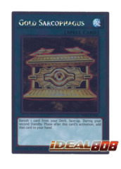 Gold Sarcophagus - NKRT-EN041 - Platinum Rare - Limited Edition