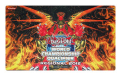 2012 World Champion Qualifier Hieratic Sun Dragon Overlord of Heliopolis Playmat