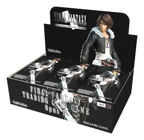 Final Fantasy TCG: Opus II (2) Collection Booster Box (36 Packs)