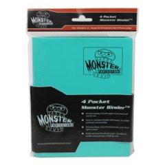 Monster Protectors 4 Pocket Binder - Matted Teal