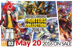 G-FC03 Fighters Collection 2016 (English) Cardfight Vanguard G Booster Box * PRE-ORDER Ships May.20