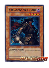 Armageddon Knight - Super - PTDN-EN021 (Unlimited) on Ideal808