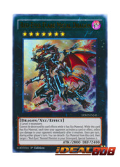 Red-Eyes Flare Metal Dragon - LDK2-ENJ41 - Ultra Rare - 1st Edition