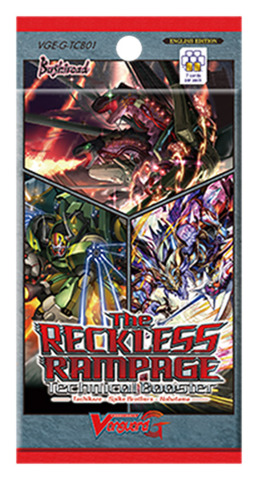 G-TCB01 The RECKLESS RAMPAGE (English) Cardfight Vanguard G-Technical Booster Pack