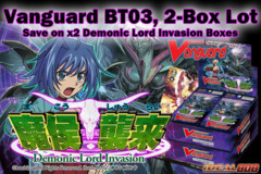 Cardfight Vanguard BT03: 2-Box Bundle - Get x2 Demonic Lord Invasion Booster Boxes