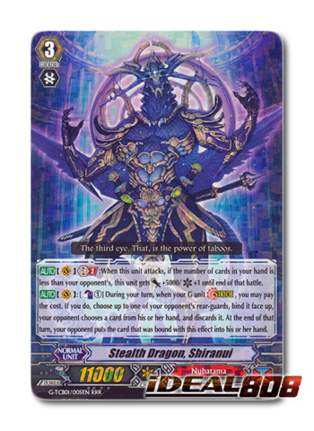 Stealth Dragon, Shiranui - G-TCB01/005EN - RRR