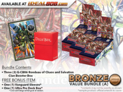 Cardfight Vanguard G-CB06 Bundle (A) Bronze - Get x3 Rondeau of Chaos and Salvation Booster Box + FREE Bonus Items * Ships Dec.1
