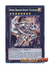 Divine Dragon Knight Felgrand - SHSP-EN056 - Secret Rare - 1st Edition