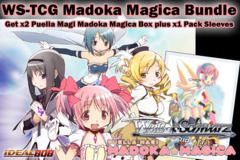 Weiss Schwarz Bundle - Get x2 Madoka Magica Booster Boxes plus x1 Hello Kitty Minase Shizuku Vol.31 Sleeve on Ideal808