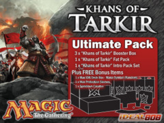 Magic KTK Ultimate Pack - Get x3 Khans of Tarkir Booster Box, x1 Fat Pack, x1 Intro Pack Set + FREE Bonus (Supply Kit) on Ideal808