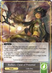Reflect, Child of Potential // Refrain, Child of Convergence [TTW-063 R (Foil Ruler)] English