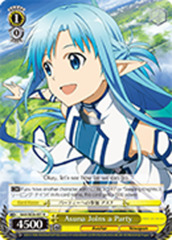 Asuna Joins a Party [SAO/SE26-E01 R (FOIL)] English