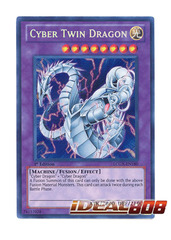 Cyber Twin Dragon - Secret - LCGX-EN180 on Ideal808