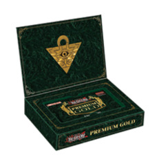 Yugioh Premium Gold Pack Box (Contains 3 mini-packs)